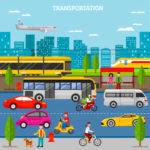 La conciencia de los modos de transporte